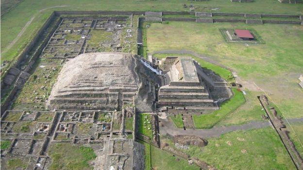 No saben por qué, la ciudad de Teotihuacán fue abandonada alrededor del año 550 d.C. SERGIO GÓMEZ