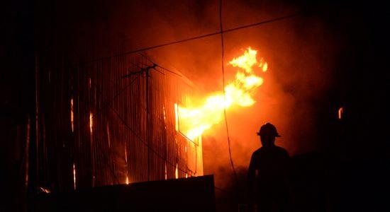 Los más grandes incendios que han ocurrido en la historia de Nicaragua se han producido principalmente en zonas de alta actividad económica. LA PRENSA/ ARCHIVO
