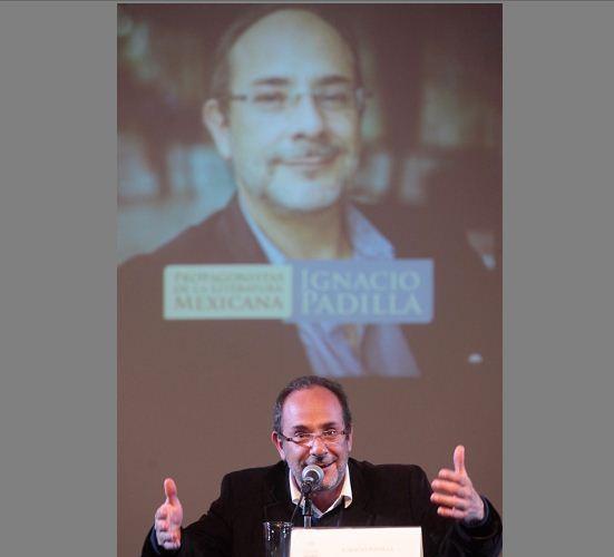 Ignacio Padilla (1968-2016), autor mexicano. LA PRENSA/ARCHIVO