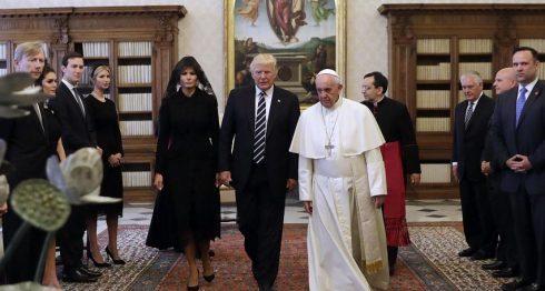 Donald Trump, Vaticano