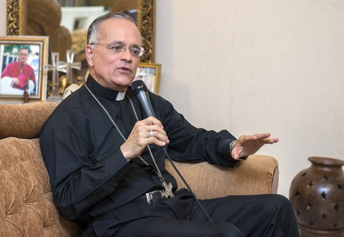Monseñor Silvio José Báez. LA PRENSA / Óscar Navarrete.