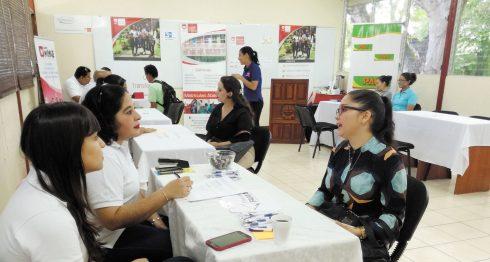 Las Ferias de Empleo son una buena oportunidad para los jóvenes. LAPRENSA/ Melvin Rodrígue