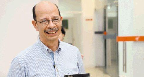 Miguel Huezo Mixco, escritor salvadoreño. LA PRENSA/Wilmer López