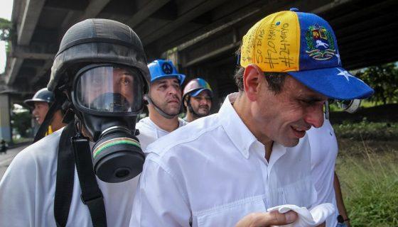 Capriles, Henrique Capriles, Venezuela, protestas en Venezuela