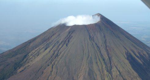 Blue, volcán en Caribe Norte