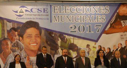 Los magistrados del CSE son afines al partido gobernante FSLN.