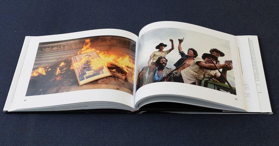 Publican tercera edición de libro Nicaragua 1978-1979, libro de la fotógrafa Susan Meiselas, de fotos de la insurrección y caída de Somoza. LAPRENSA/URIEL MOLINA