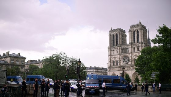 Paris, Catedral de Notre-Dame