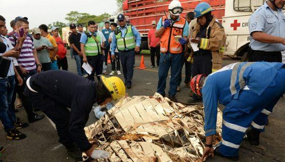 accidente en Tipitapa