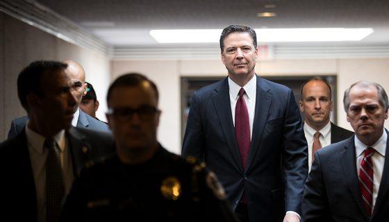 James Comey, exdirector del FBI, Donald Trump