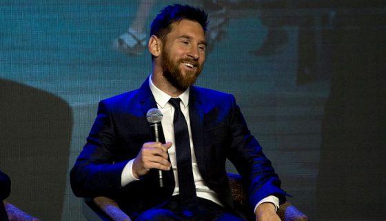 Lionel Messi cobraría un salario anual de 50 millones de euros por su nuevo contrato con el Barcelona. LA PRENSA/AP/Ng Han Guan