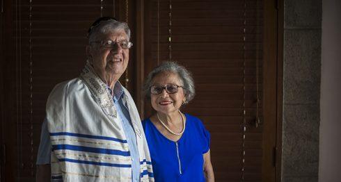 Gerald Smith e Ileana Lacayo Remigi se casaron cuando él tenía 64 años y ella 50 años. Ambos eran viudos. Oscar Navarrete/ LA PRENSA.