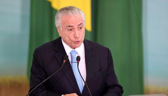 Michel Temer, Brasil