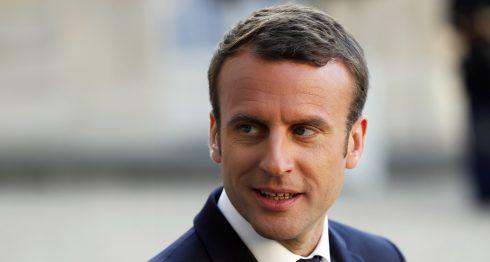 Emmanuel Macron, presidente de Francia. LA PRENSA / AFP.