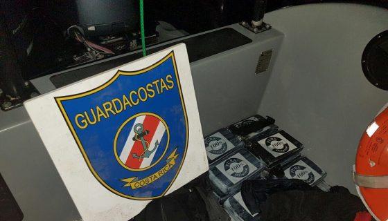 lancha con droga, FARC