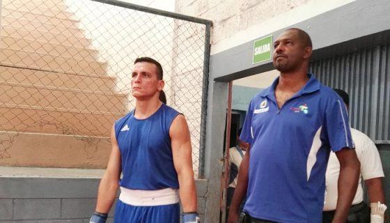 Osmar Bravo podría disputar un combate de repechaje, en busca de la clasificación al Mundial de Boxeo. LA PRENSA/BAYRON SAAVEDRA