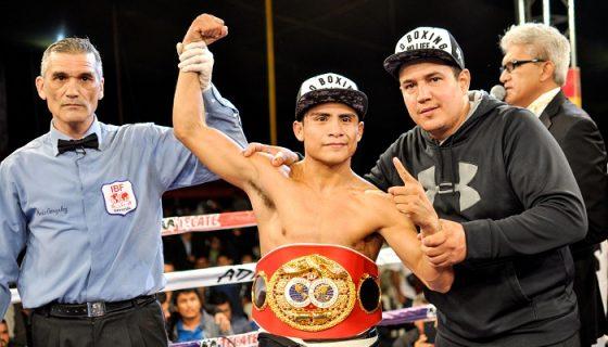 El mexicano José Argumedo, campeón mundial de las 105 libras de la FIB, hará una pelea opcional antes de enfrentar al nicaragüense Carlos Buitrago. LA PRENSA/CORTESÍA/BOX AL DÍA