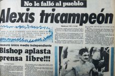 Alexis Argüello , boxeo, tricampeón del mundo
