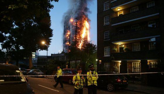 incendio en londres, Londres