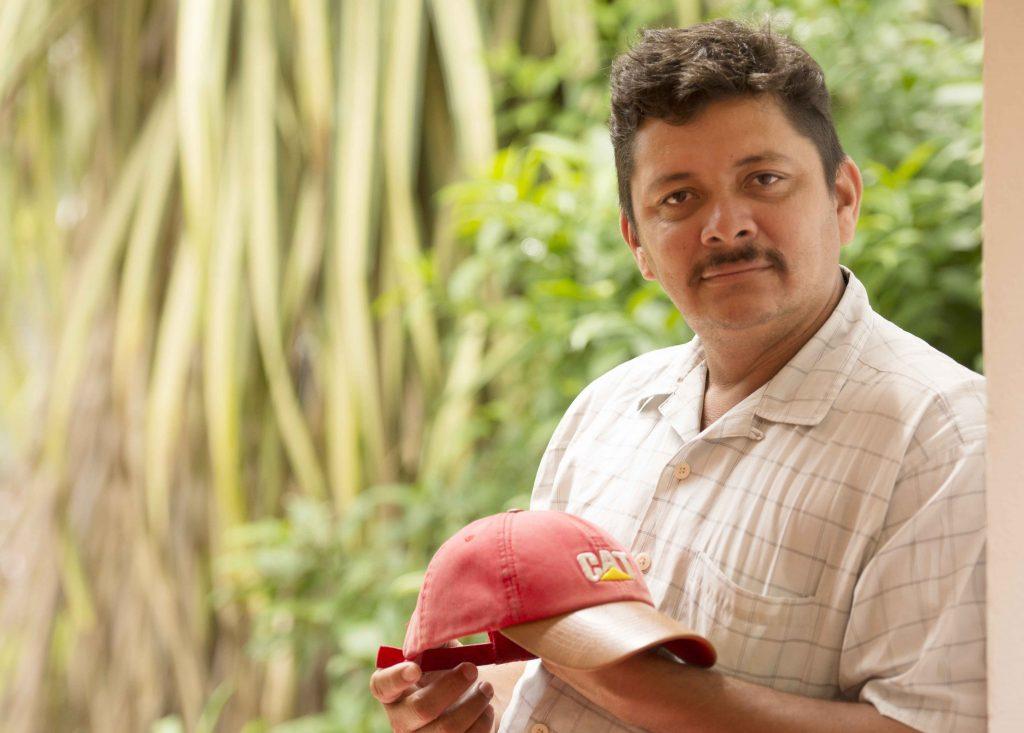 Medardo Mairena, coordinador de Campesinos en la lucha anticanal. LA PRENSA / Uriel Molina.