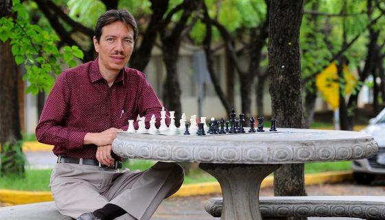 Martín Guevara es uno de los ajedrecistas más destacados de la historia de Nicaragua y por ello fue electo para ser miembro del Salón de la Fama del Deporte Nicaragüense. LA PRENSA/WILMER LÓPEZ