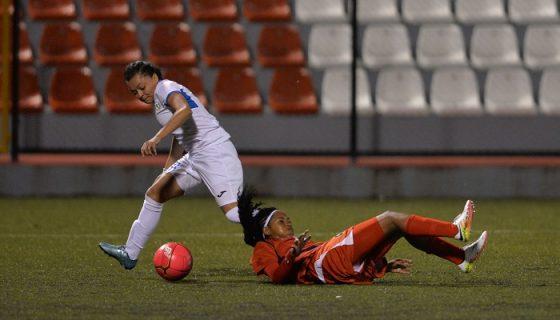 La Selección Nicaragüense de Futbol Femenino busca el avance al premundial de la Concacaf Sub-20. LA PRENSA/JADER FLORES