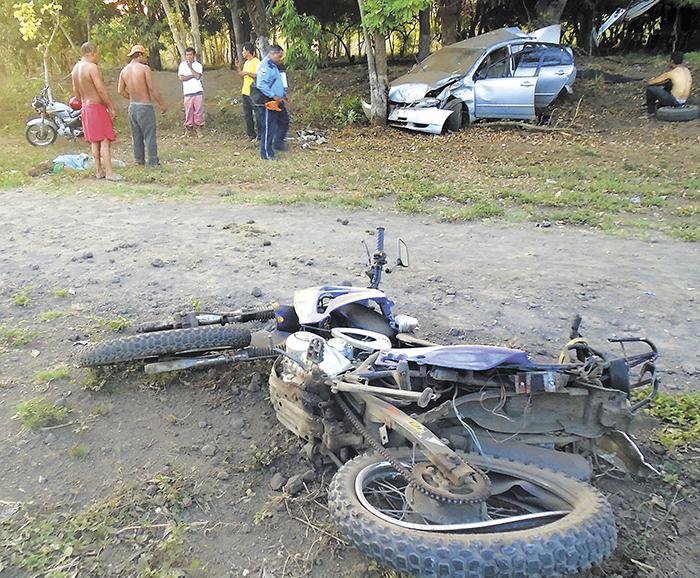 Se mantiene la tendencia de muertes en accidentes de tránsito, donde se ven involucradas motocicletas. LA PRENSA/ARCHIVO