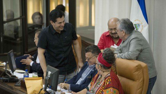 Los diputados del FSLN y sus aliados aprobaron las reformas penales. LA PRENSA/ U. MOLINA