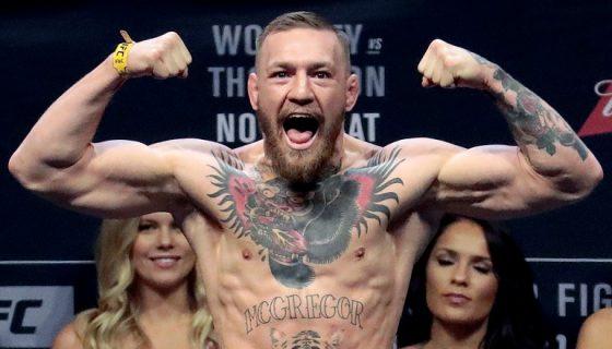 Conor McGregor debutará en el boxeo profesional ante Floyd Mayweather, una pelea calificada de mero espectáculo por los expertos en el pugilismo. LA PRENSA/AP/Julio Cortez