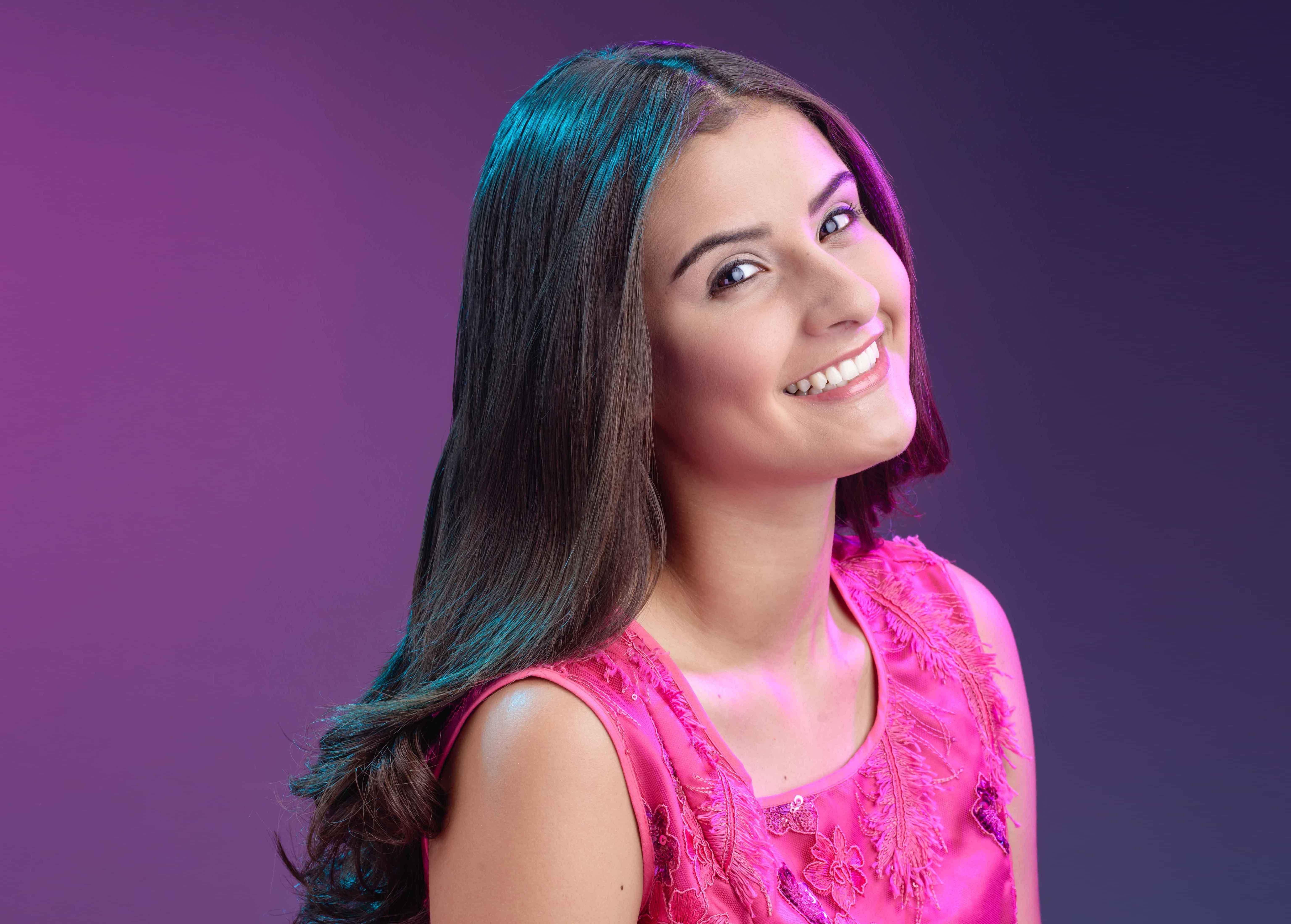 Alexa Alejos, la candidata a Miss Teen, que sueña con regalar sonrisas