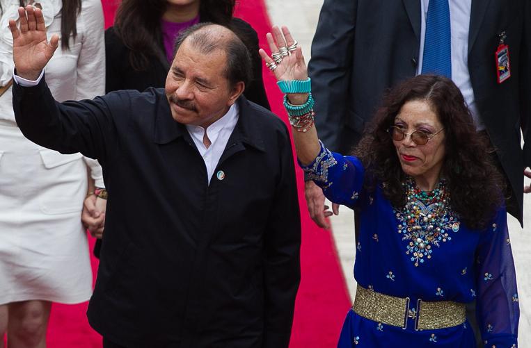 La pareja presidencial mantiene una política de sometimiento al poder local desde hace diez años. Este año habrá votaciones municipales. LA PRENSA/ARCHIVO
