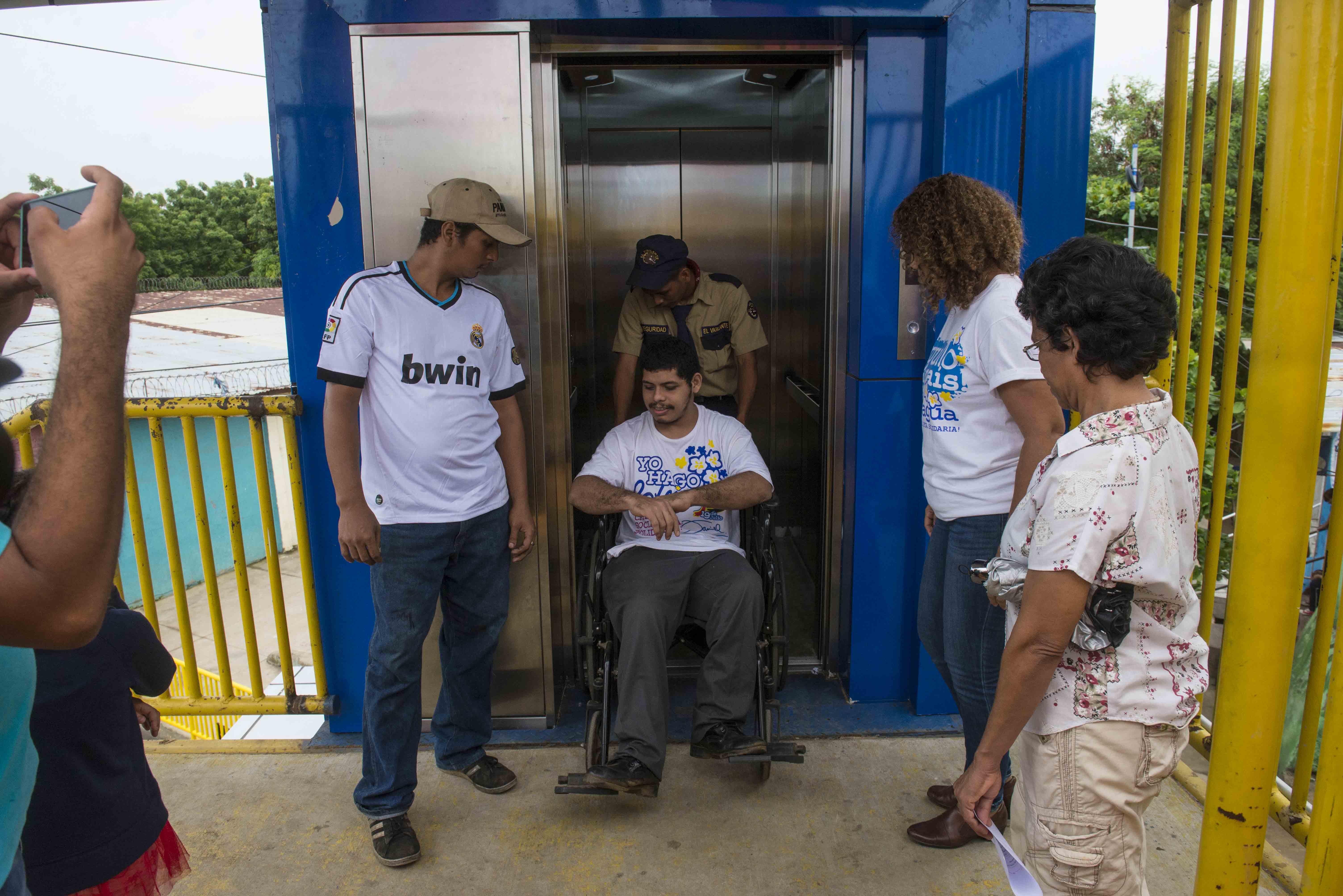 Alcaldía de Managua, ascensores