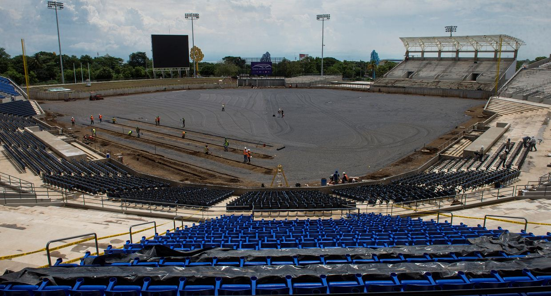 estadio nacional de beisbol, Nicaragua, Managua