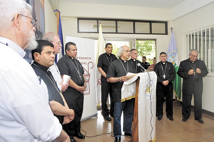 Los Obispos de Nicaragual hicieron una jornada de oración por el pueblo venezolano el pasado 21 de mayo. LA PRENSA/ARCHIVO