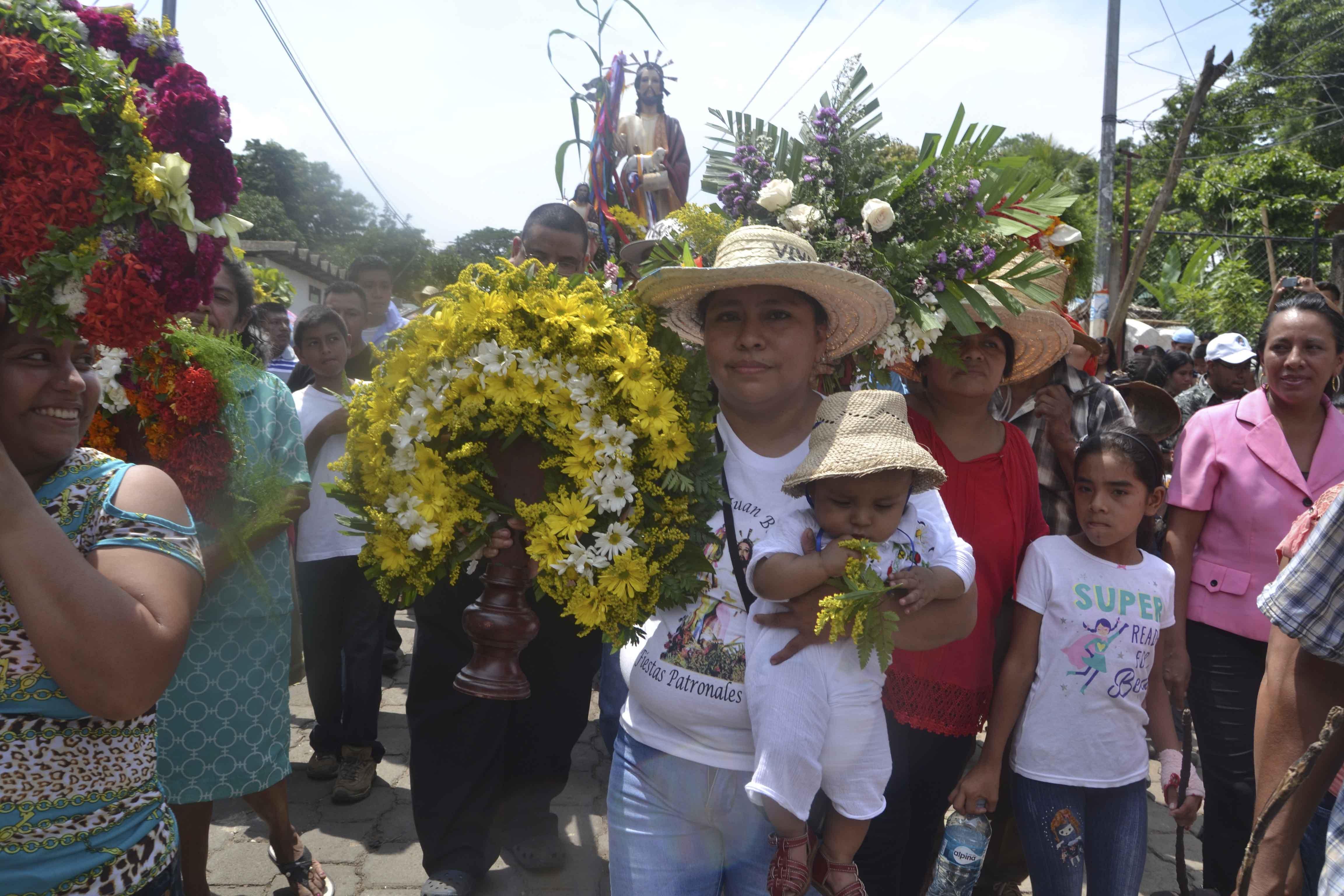 Inician fiestas patronales en honor a San Juan Bautista