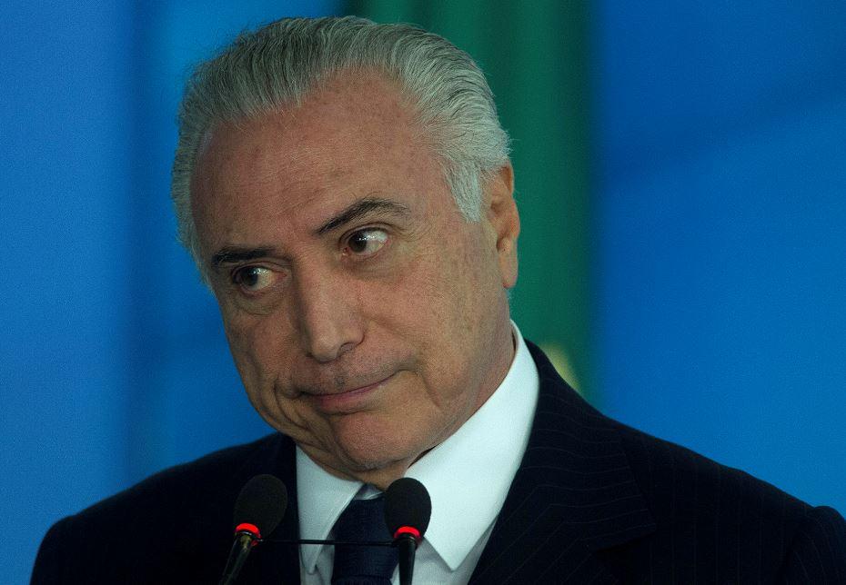Temer, Michel Temer, Corrupción, Brasil