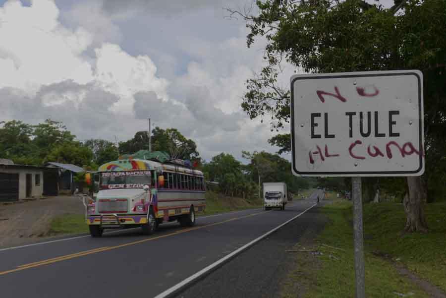 Así es El Tule, una comunidad en la ruta del Canal de Nicaragua