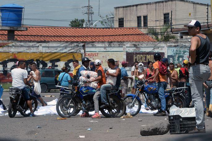 Ciudad venezolana de Maracay, convertida en tierra sin Dios ni ley por saqueadores