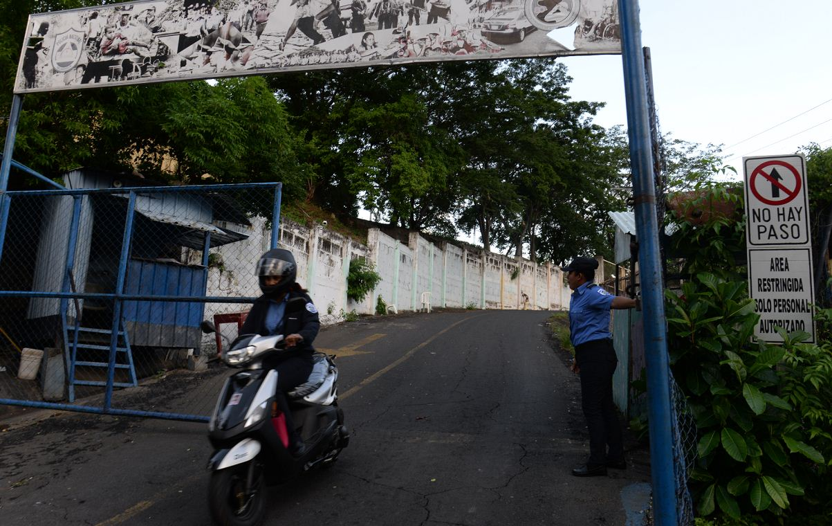 el chipote, auxilio judicial, policía, Nicaragua