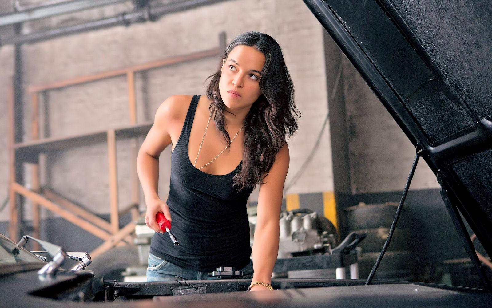 Michelle Rodríguez reclama que mujeres tengan más peso en Rápidos y Furiosos