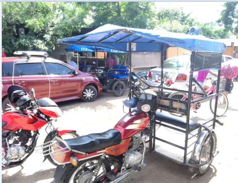 Taxistas retoman protestas contra mototaxis de Teustepe
