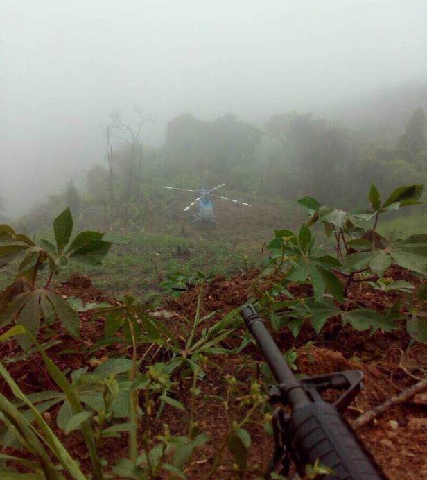 Encuentran helicóptero implicado en supuesto ataque con granadas en Venezuela