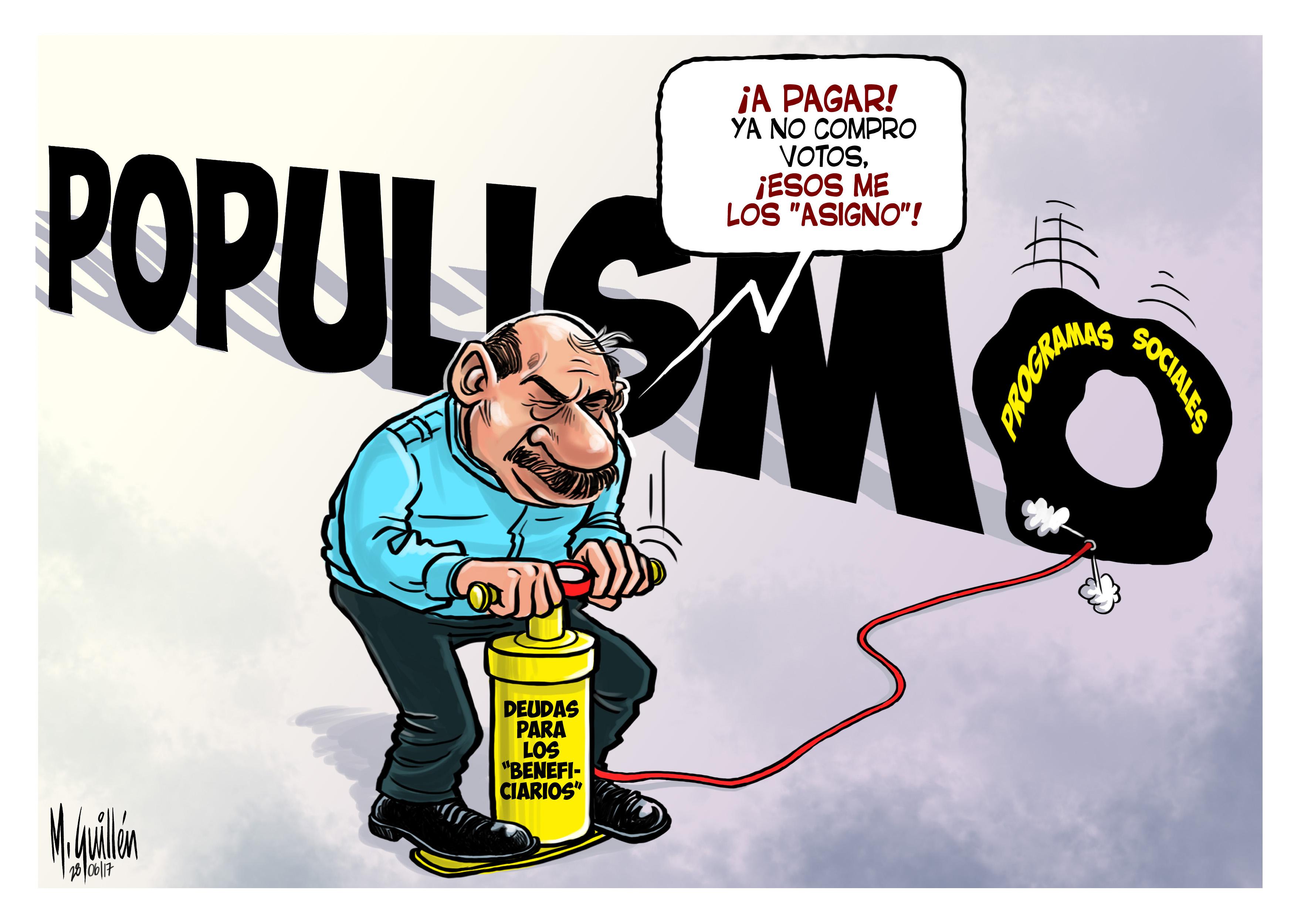 Daniel Ortega, populismo, programas sociales