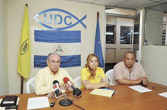 UDC, Agustín Jarquín, PLC, Arnoldo Alemán, elecciones