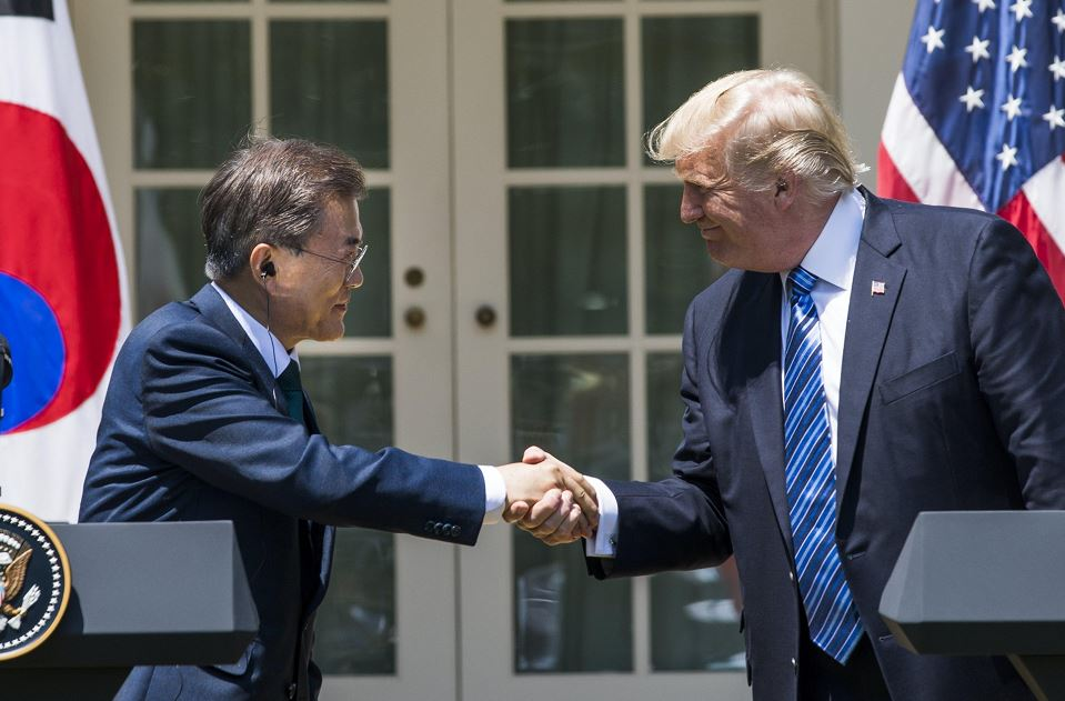 Donald Trump, Moon Jae-in, Estados Unidos, Corea del Sur, Corea del Norte