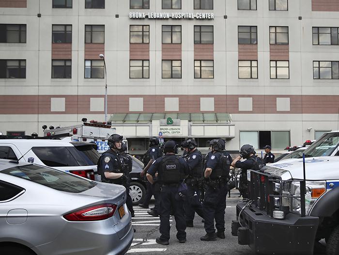 Bronx Lebanon Hospital, Nueva York, tiroteo