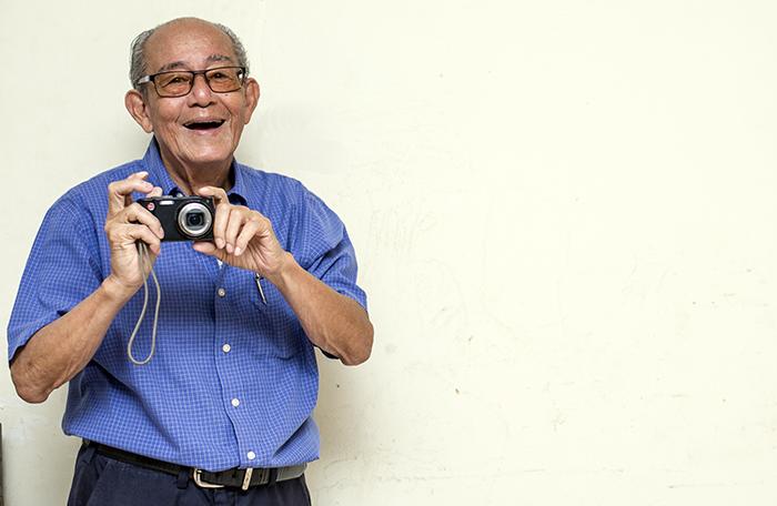 Francisco Rivas Quijano es un veterano fotoperiodista.Trabajo para el diario La Noticia y La Prensa. Oscar Navarrete/ LA PRENSA.