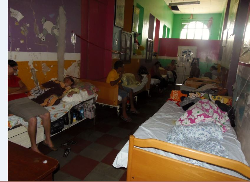 Ocotal, hospital, Nicaragua