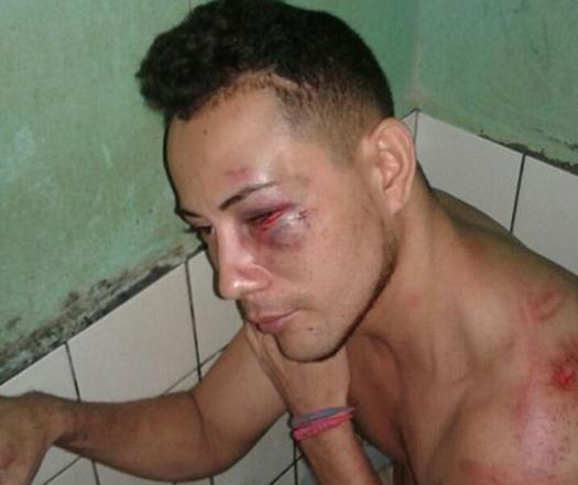 Golpiza policial, Rivas, fuga de reos