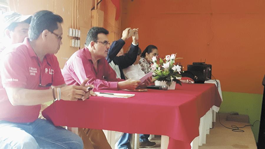 Julio Quintanilla, PLC, candidatos, dedazo, Nueva Guinea